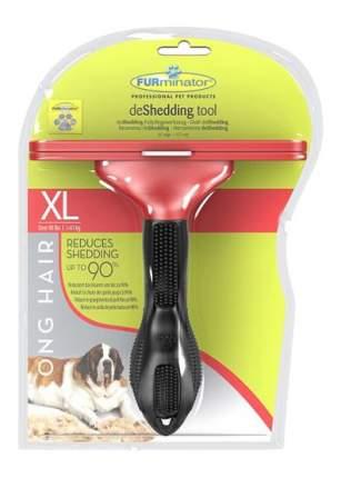 Фурминатор для собак FURminator®, длина шерсти длинная, черный