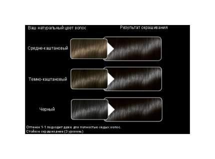 Краска для волос Syoss Color 1-1 Черный 50мл