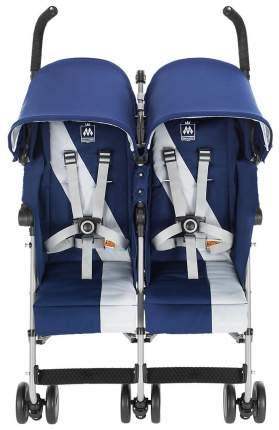 Коляска для двойни Maclaren Twin Triumph Medievel Blue, Silver WM1Y120042