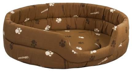 Лежанка для кошек и собак Дарэлл 33x42x15см серый