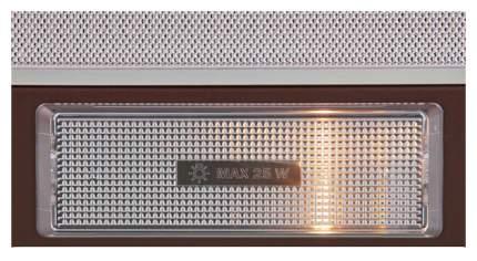 Вытяжка встраиваемая KRONAsteel Kamilla 600 Brown/Silver