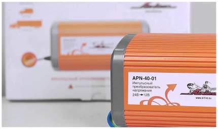Автомобильный преобразователь напряжения Airline 12В-220В 240Вт APN-40-01