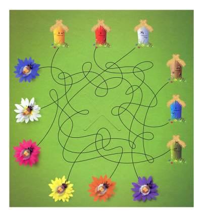 Семейная настольная игра STEP Puzzle Цветочный мед
