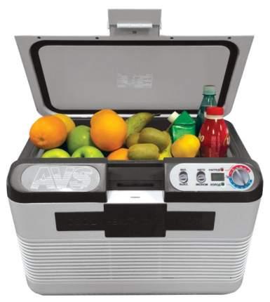 Автохолодильник AVS ALDX13300 серый, черный