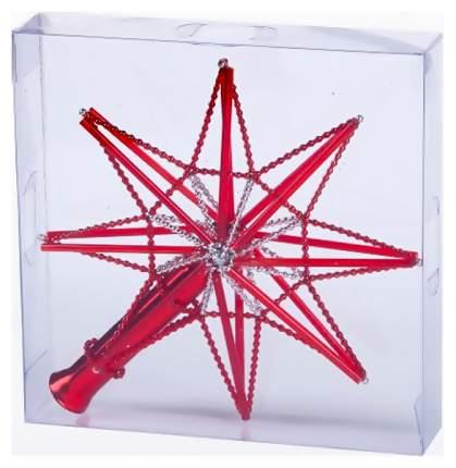 Верхушка для ели Елочка Монтажная Звезда красный C893