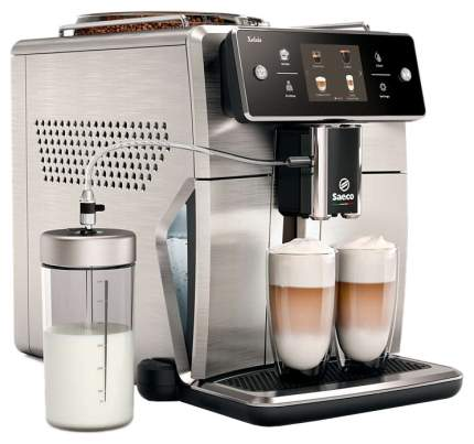 Кофемашина автоматическая Saeco Xelsis SM7685/00 Silver/Black