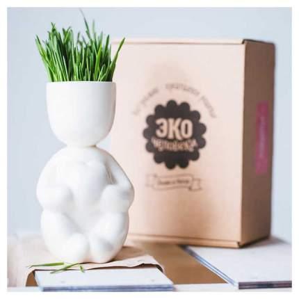 Горшок цветочный Экочеловеки 1007 0.1 л