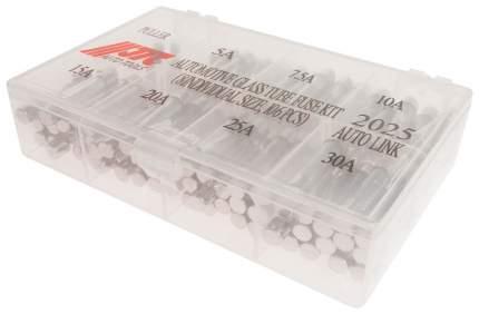 Набор предохранителей JTC JTC-2025 стеклянные трубчатые 105 шт в боксе
