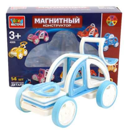 Магнитный 3D-Конструктор Машинка 14 дет. Город Мастеров Xb-4006-R