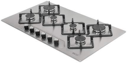 Встраиваемая варочная панель газовая RICCI RGN-KA 6018 IX Silver