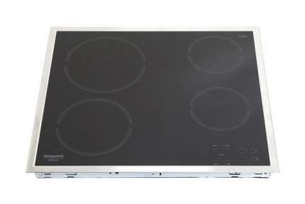 Встраиваемая варочная панель электрическая Hotpoint-Ariston HAR 641 X Black
