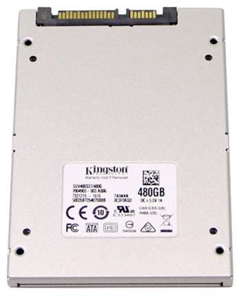 Внутренний SSD накопитель Kingston A400 480GB