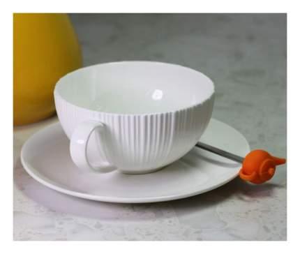 Чайная пара FISSMAN elegance white 9383 1 пер.