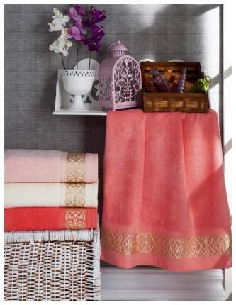 Набор полотенец DO'n'CO бежевый, оранжевый, розовый