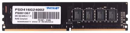 Оперативная память PATRIOT Signature Line PSD416G24002