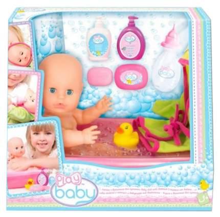 Игрушка для купания Toys Lab Play Baby кукла с ванночнкой
