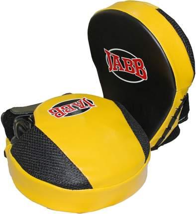 Боксерские лапы Jabb JE-2190 черно-желтые