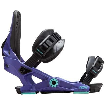 Крепления для сноуборда Now Vetta 2019, фиолетовые, S
