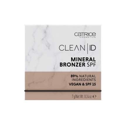 Бронзер CATRICE Clean ID Mineral Bronzer 010 Light/Medium