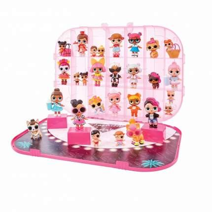 Игровой набор с куклой LOL Surprise Модный контейнер светло-розовый 562696