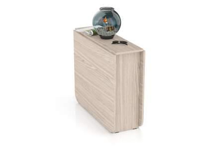 Стол-книжка обеденный Мебельный Двор СО-01 ясень шимо светлый 170х90х75 см