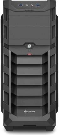 Корпус компьютерный Sharkoon SGC1 WINDOW BLUE
