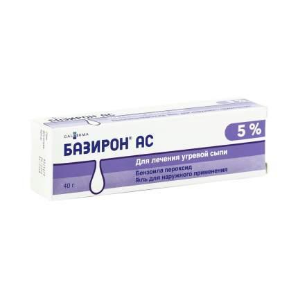 Базирон АС гель 5 % 40 г