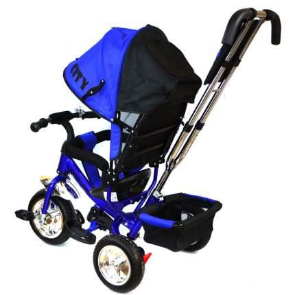 Велосипед детский трёхколёсный City синий колёса 10 и 8 JD7BS