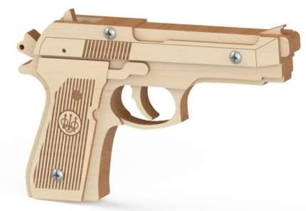 Конструктор деревянный Древо Игр Резинкострел Беретта