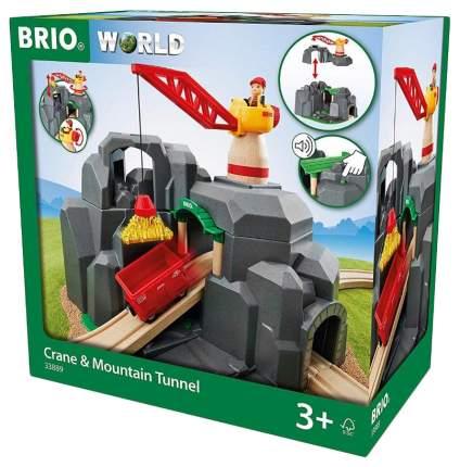 Объекты железной дороги Brio Золотая шахта Тоннель 33889