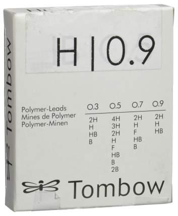 """Грифели для механических карандашей Tombow """"Mono"""", 0,9 мм, H, 12 штук"""