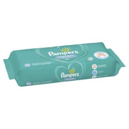 Детские влажные салфетки Pampers Fresh Clean 52 шт.