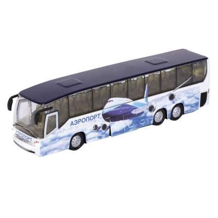 Автобус Технопарк аэропорт, инерционный, металлический со светом и звуком