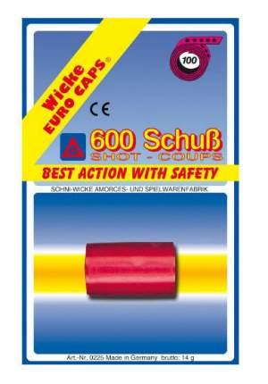 Пистоны Sohni-Wicke 100-зарядные 600 шт. блистер упаковка-карта