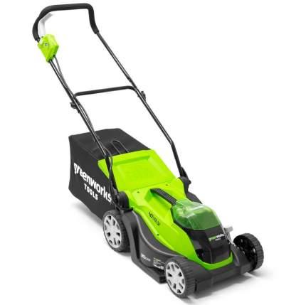 Аккумуляторная газонокосилка Greenworks G40LM35 2501907UC