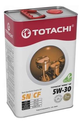 Моторное масло Totachi Niro LV Semi-Synthetic SN/CF 5W-30 4л