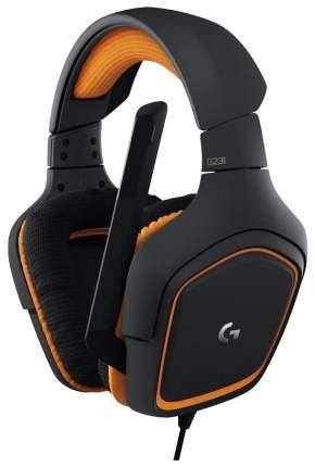 Игровые наушники Logitech G231 Prodigy Gaming Headset Orange/Black