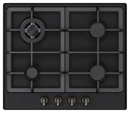 Встраиваемая варочная панель газовая Midea Q452SFD-BL Black