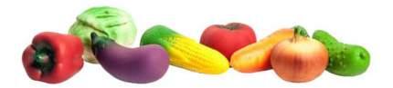 Набор игровой Огонек Овощи