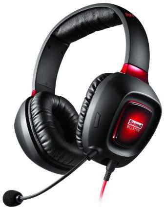 Игровые наушники Creative Sound Blaster Tactic3D Rage Wireless V2.0 Red/Black