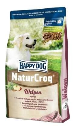 Сухой корм для щенков Happy Dog NatureCroq Welpen, птица, говядина, рыба, 15кг