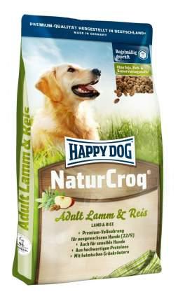 Корм для собак Happy Dog NaturCroq Lamm&Reis на основе ягненка и риса 15 кг