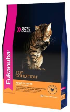 Сухой корм для кошек Eukanuba Top Condition, домашняя птица, 10кг