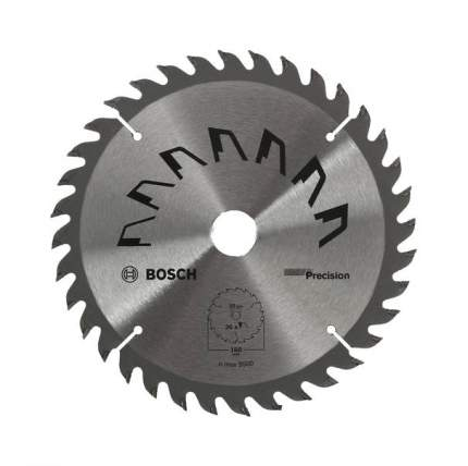 Диск пильный Bosch Precision 160x20/16мм 36зуб. (2609256856)