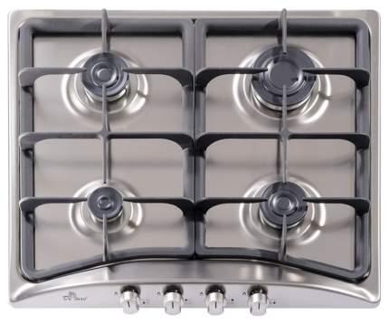 Встраиваемая варочная панель газовая DeLuxe 5840.00ГМВ-052 ЧР Silver