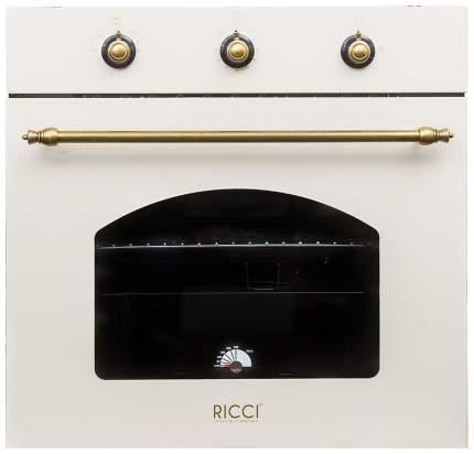 Встраиваемый газовый духовой шкаф RICCI RGO-620BG Beige