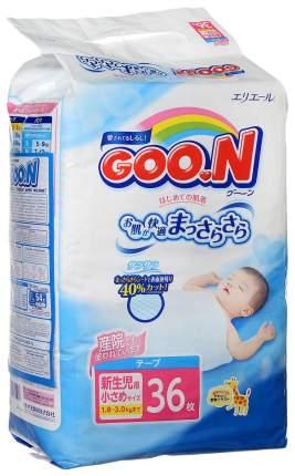 Подгузники Goon XXS (1,8-3 кг), 36 шт.