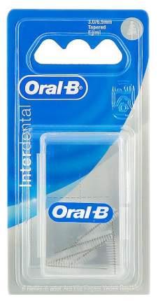 Сменные насадки для межзубной щетки Oral-B Pro-Expert Clinic Line Interdental средняя 6шт
