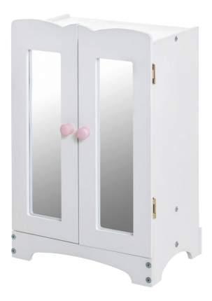 Кукольный шкаф Paremo белый
