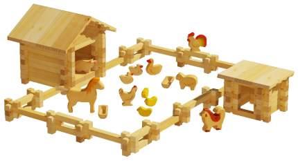 Конструктор деревянный Лесовичок Солнечная Ферма №2 les 013